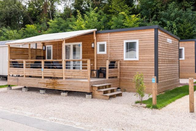 mobil-home Villa au camping Paris Est