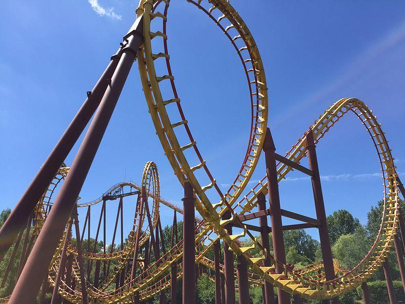 Looping du Parc Astérix
