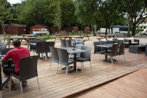 La terrasse du bar restaurant