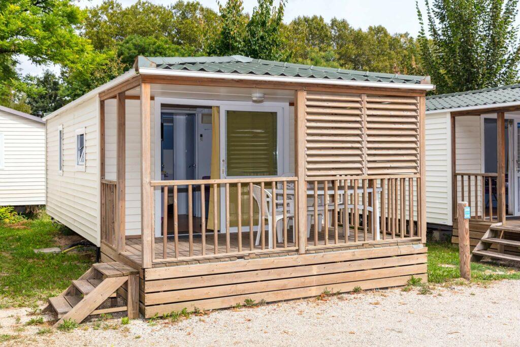 mobil-homes cottage au camping Paris Est