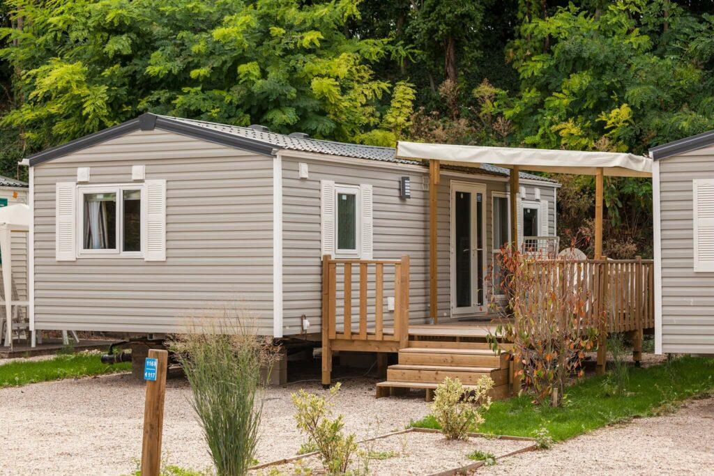 mobil-homes villa avec terrasse